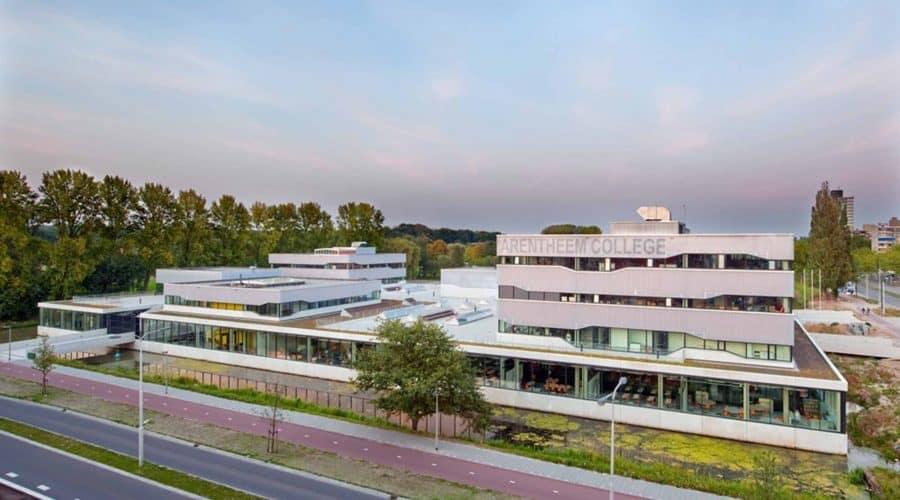 gevelbekleding Arentheem College Arnhem
