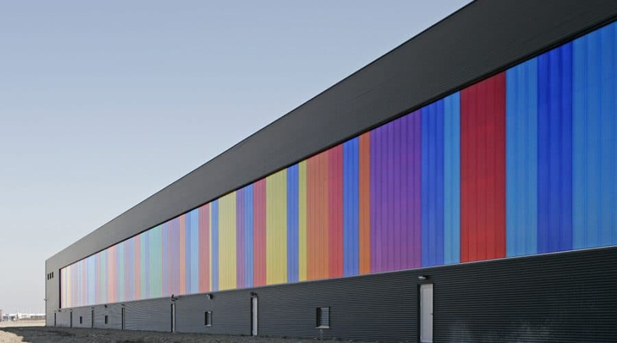 Rodeca Systems Gekleurde panelen