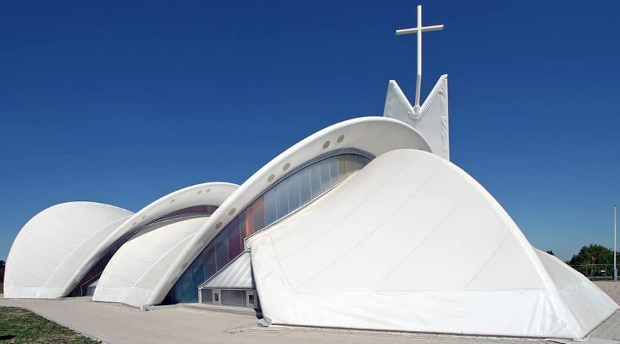 Gevel Kleur en effecten Maassluis Petrus Paulus Kerk