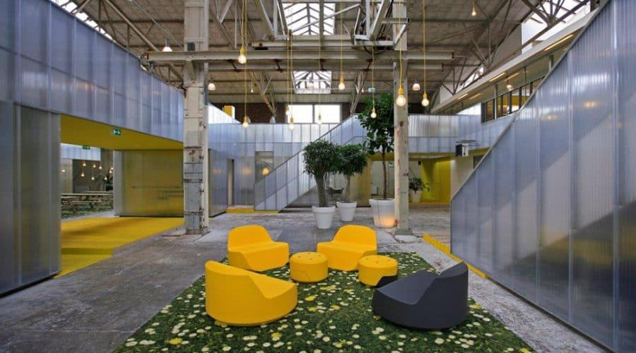 binnenwanden Rotterdam Kantoor IMD