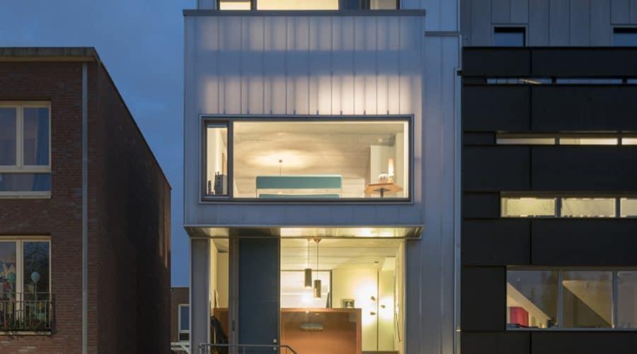 gevelbekleding woonhuizen Rotterdam Walhalla