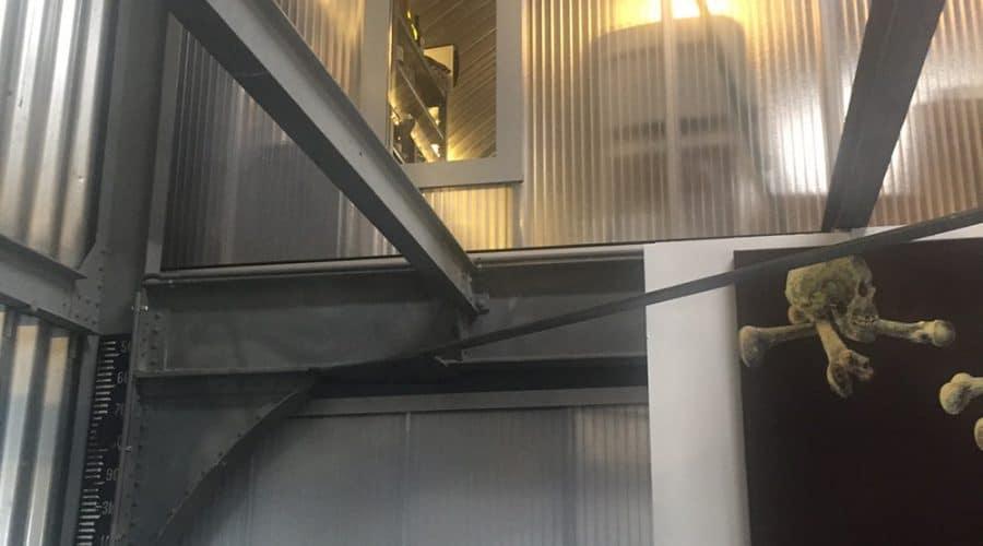 Vijfhuizen Genieloods Binnenwanden deuren