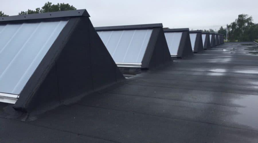 Vlaardingen Fontijne glaskap renovatie daklicht
