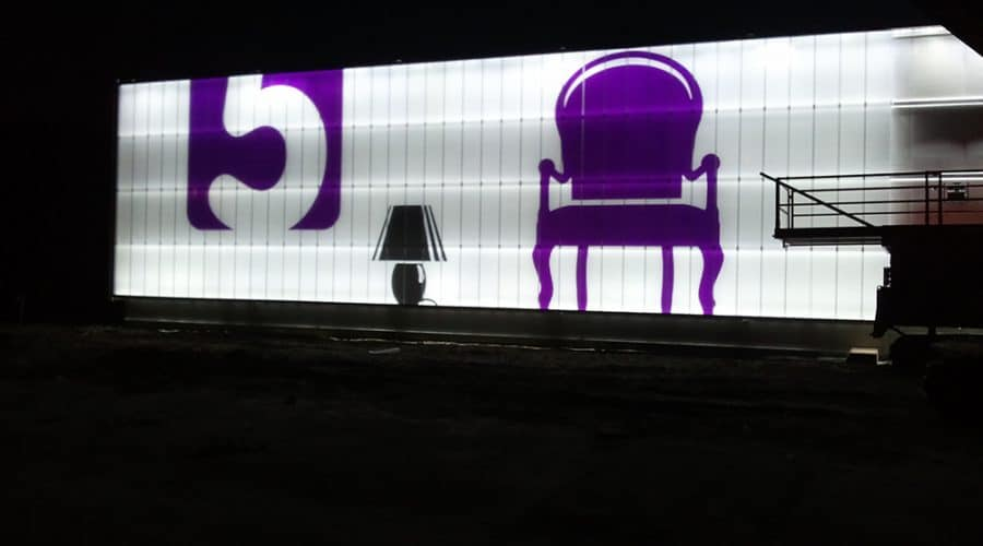 Wolvega Home 5 kleur en effecten verlichting gevelbekleding